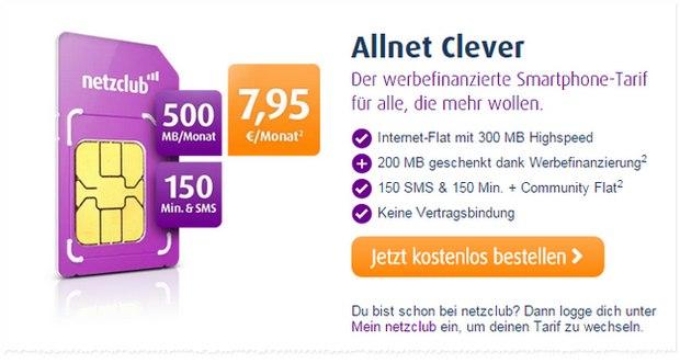 netzclub Allnet-Clever