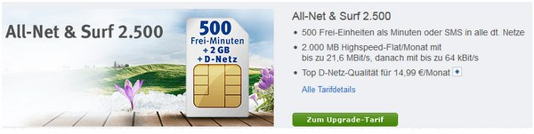 Web.de All-Net & Surf 2500