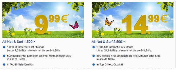 GMX.DE All-Net & Surf 1500
