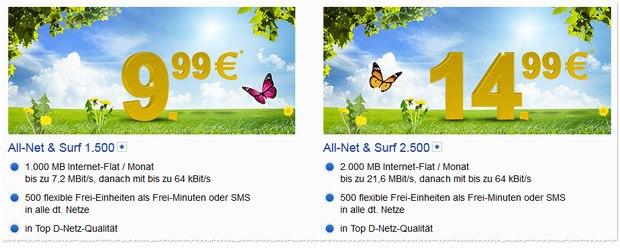 GMX.DE All-Net & Surf 1500